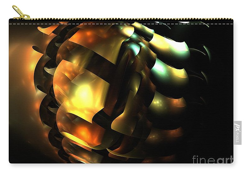 Apophysis Carry-all Pouch featuring the digital art Acorn by Kim Sy Ok