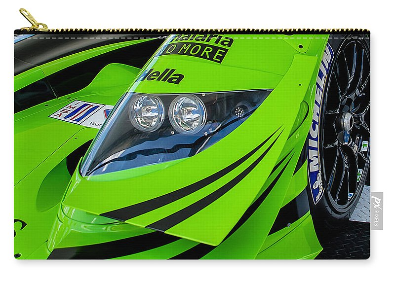 Racing Carry-all Pouch featuring the photograph Acura Patron Car by Scott Wyatt