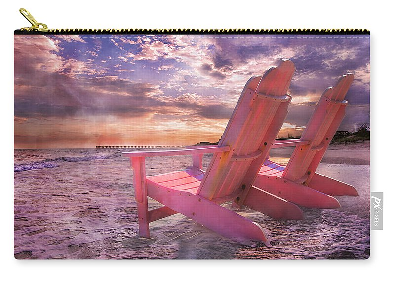 Beach Carry-all Pouch featuring the photograph Adirondack Duo by Betsy Knapp