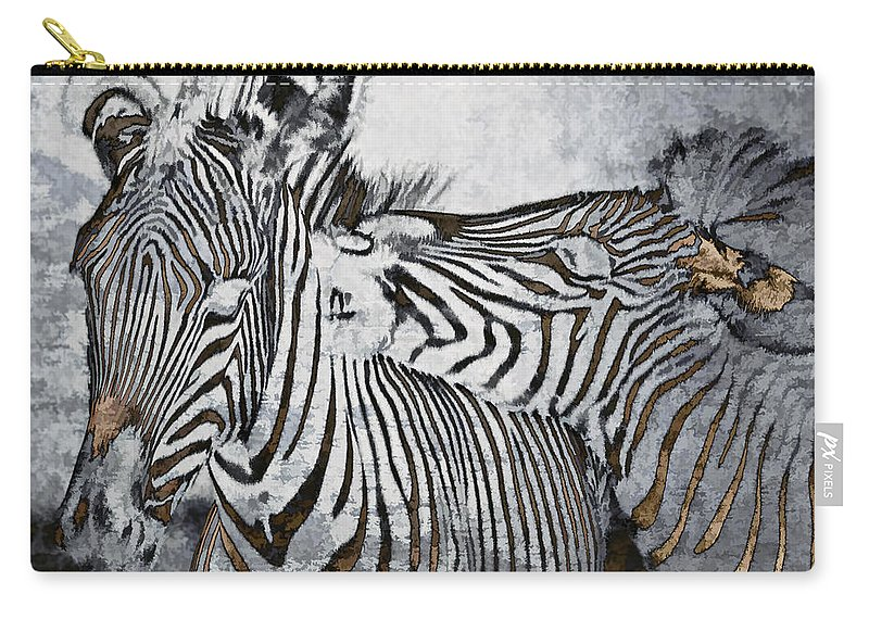 Animal Carry-all Pouch featuring the photograph Affection by Marcia Colelli
