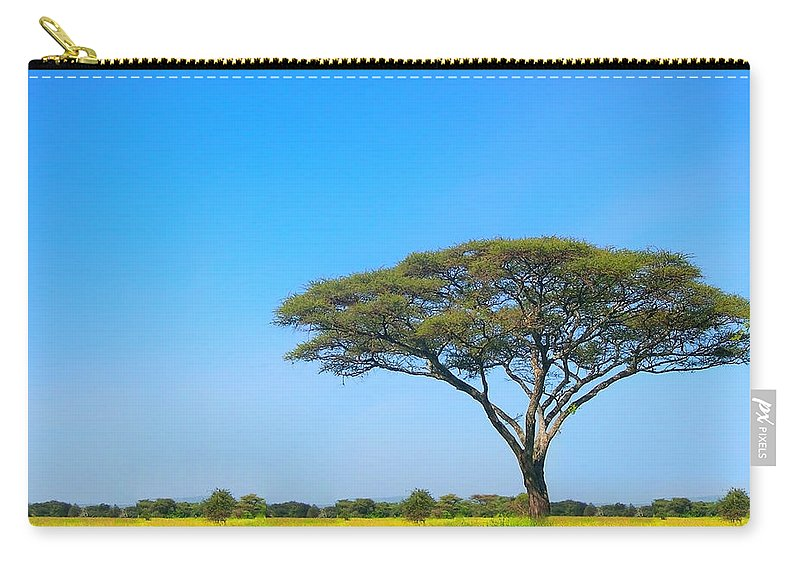 Africa Carry-all Pouch featuring the photograph Africa by Sebastian Musial