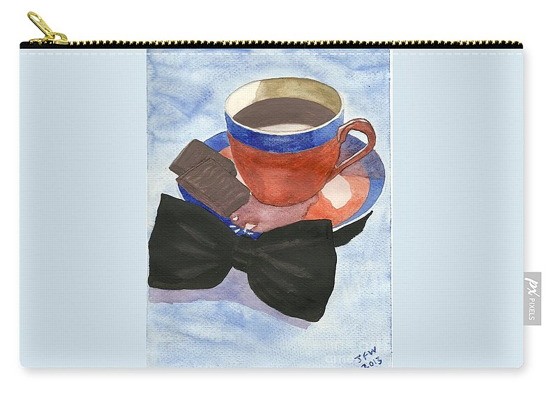 After Dinner Mints Carry-all Pouch featuring the painting After Dinner Mints by John Williams
