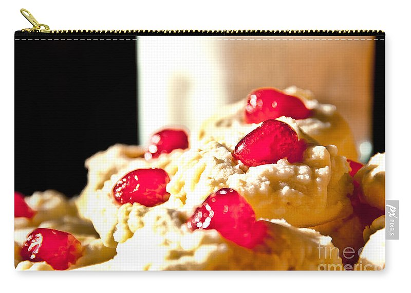 Cookies Carry-all Pouch featuring the photograph After School Snack by Cheryl Baxter