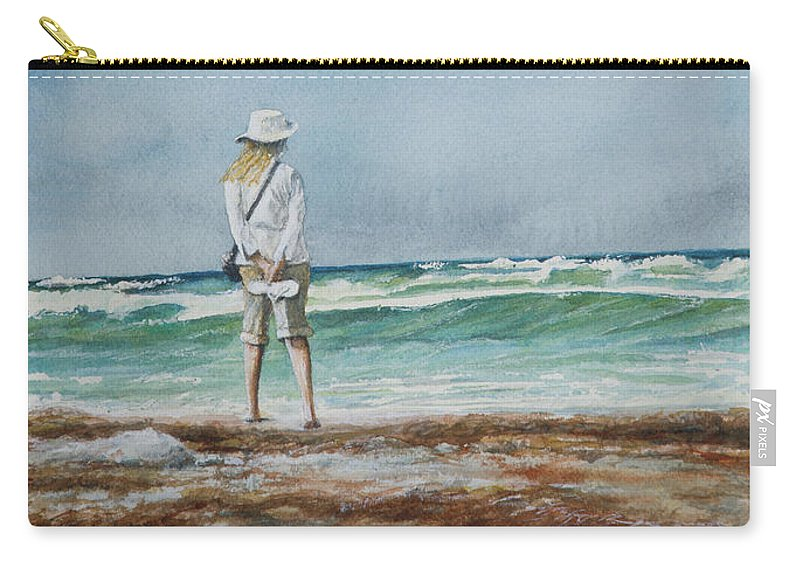 Landscape Carry-all Pouch featuring the painting After the Storm by Arthur Fix