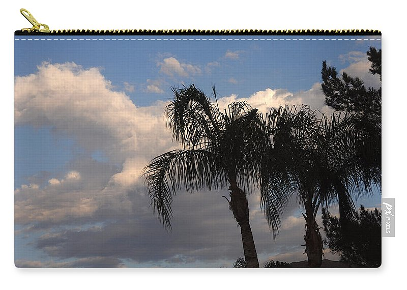 Storm Carry-all Pouch featuring the photograph After The Storm by Jay Milo