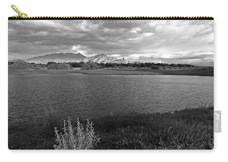 Monsoon Carry-all Pouch featuring the photograph After The Storm by Lucinda Walter