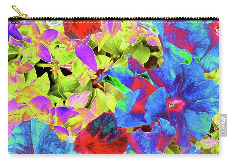 Floral Carry-all Pouch featuring the photograph Afternoon Delight by Maureen J Haldeman
