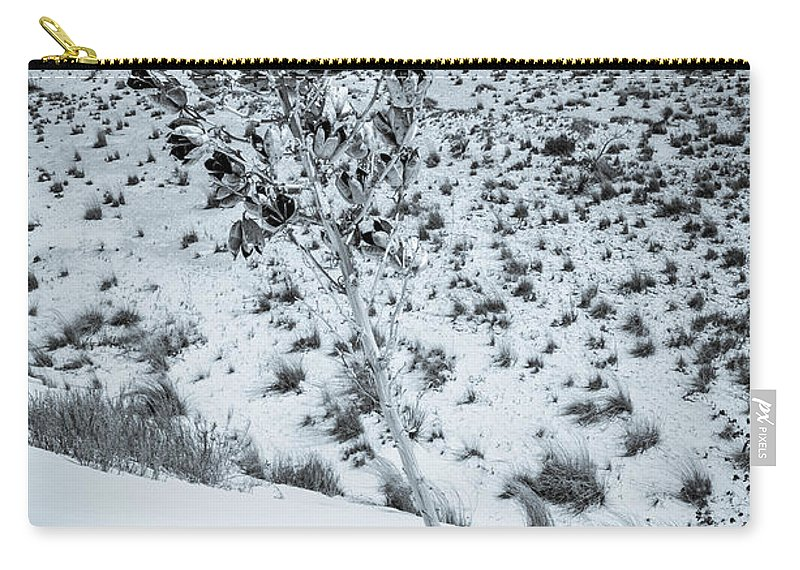 Desert Carry-all Pouch featuring the photograph Against The Odds by Gareth Burge Photography