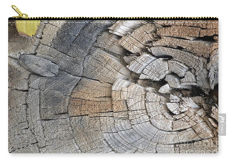 Age Carry-all Pouch featuring the photograph Aged by Brian Boyle