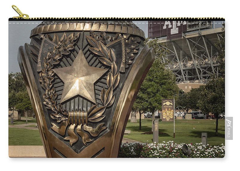 Joan Carroll Carry-all Pouch featuring the photograph Aggie Ring by Joan Carroll
