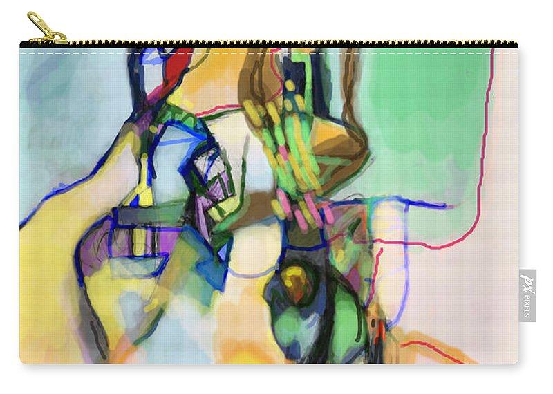 Torah Carry-all Pouch featuring the digital art Self-renewal 13o by David Baruch Wolk