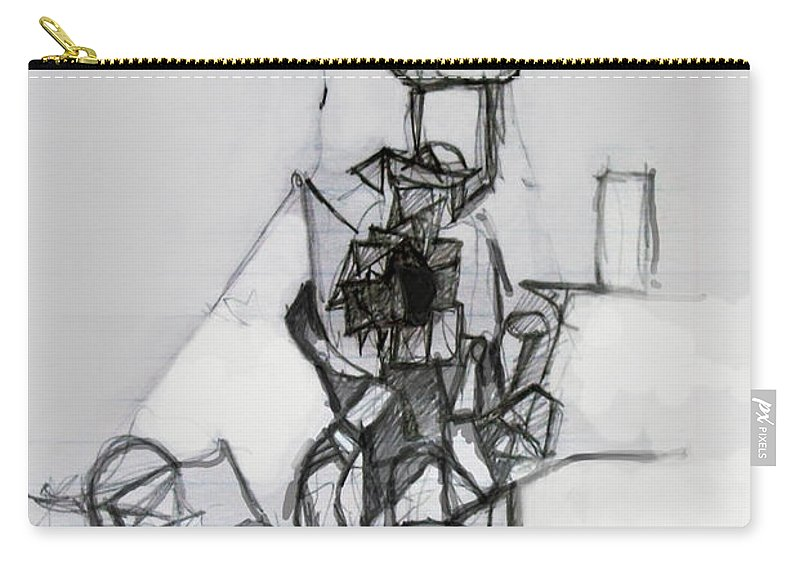 Torah Carry-all Pouch featuring the digital art Self-renewal 14b by David Baruch Wolk