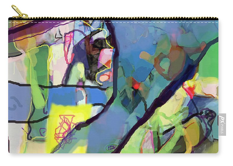 Torah Carry-all Pouch featuring the digital art Self-renewal 15s by David Baruch Wolk