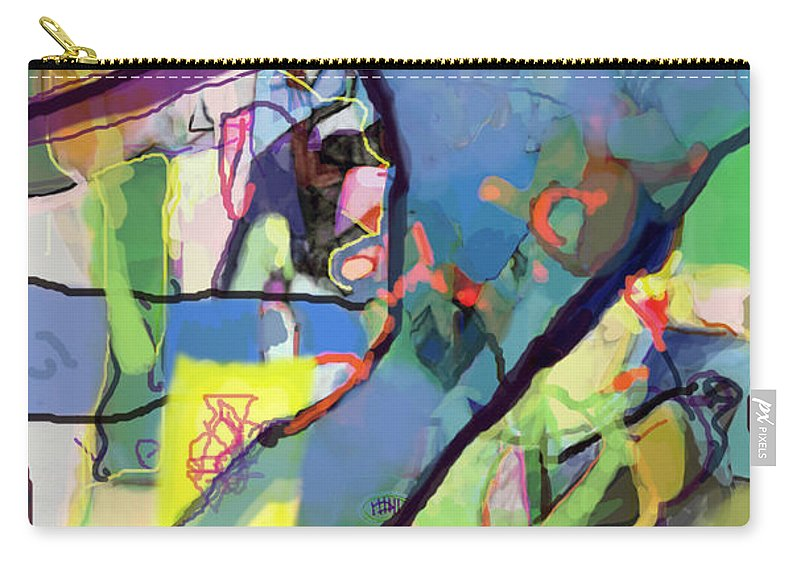 Torah Carry-all Pouch featuring the digital art Self-renewal 15t by David Baruch Wolk