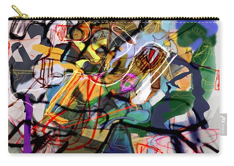 Torah Carry-all Pouch featuring the digital art Self-renewal 16k by David Baruch Wolk