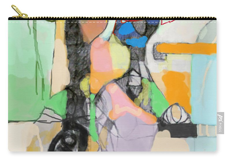 Torah Carry-all Pouch featuring the digital art Self-renewal 17d by David Baruch Wolk