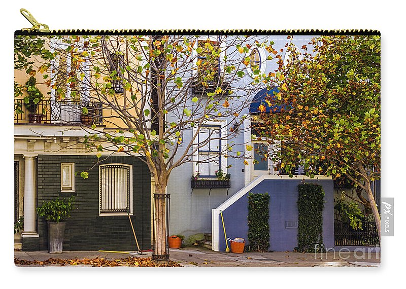 Autumn Carry-all Pouch featuring the photograph Ah Autumn by Kate Brown
