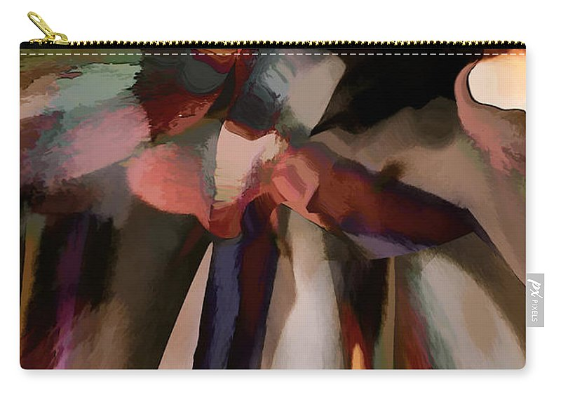 Hotel Art Carry-all Pouch featuring the digital art Ahhh Harmony by Margie Chapman