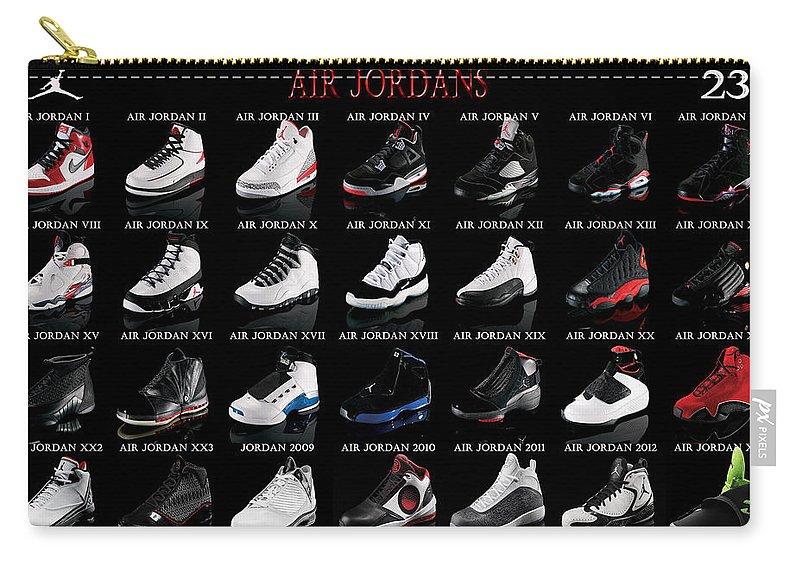 all air jordan shoes