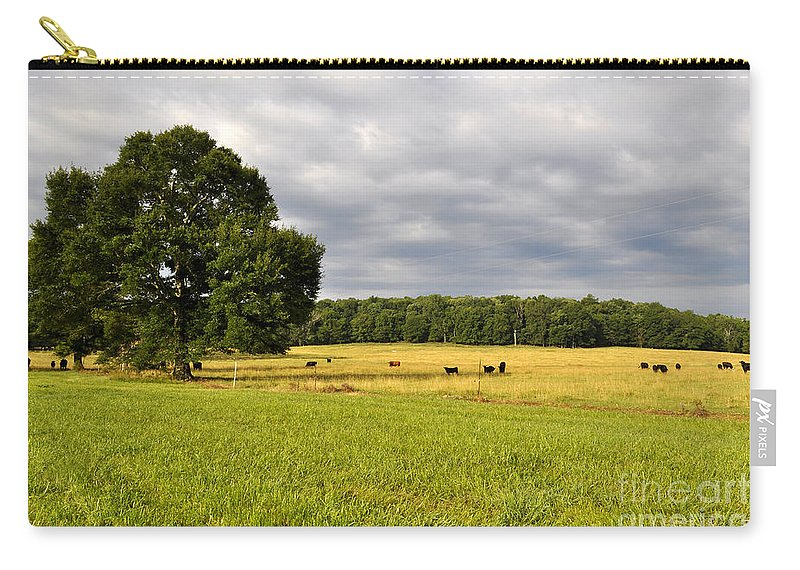 Alabama Carry-all Pouch featuring the photograph Alabama Valley by Verana Stark