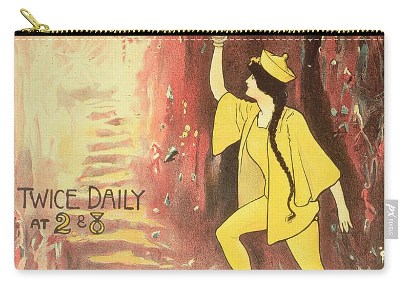 Aladdin Carry-all Pouch featuring the painting Aladdin by English School