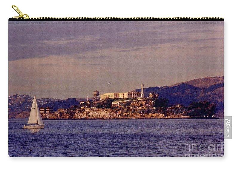 Alcatraz Carry-all Pouch featuring the photograph Alcatraz by John Malone
