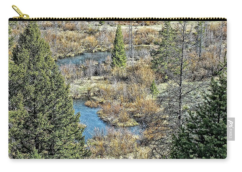 Photo Carry-all Pouch featuring the photograph Alice Creek by Susan Kinney