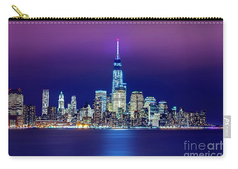 New Carry-all Pouch featuring the photograph All That Glitters by Az Jackson