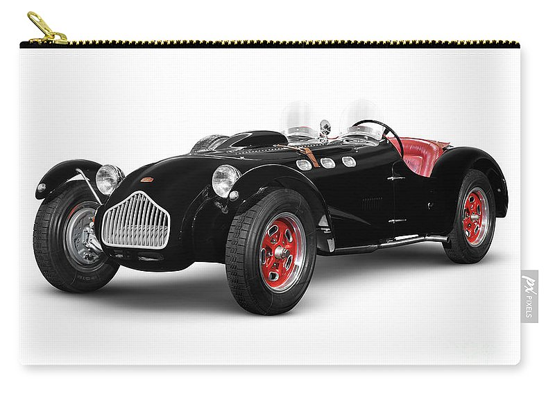 Car Carry-all Pouch featuring the photograph Allard J2x Vintage Sports Car by Oleksiy Maksymenko