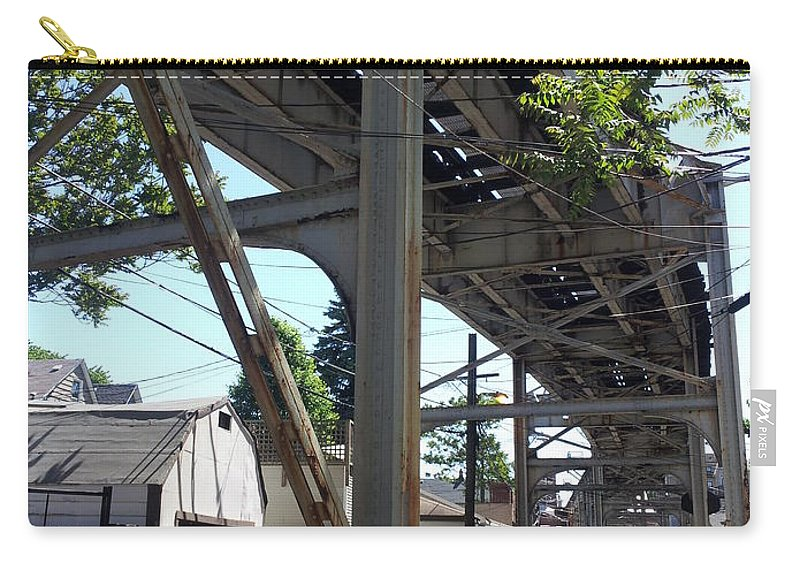 Street Art Carry-all Pouch featuring the photograph Alley 6 3 14 by Zac AlleyWalker Lowing