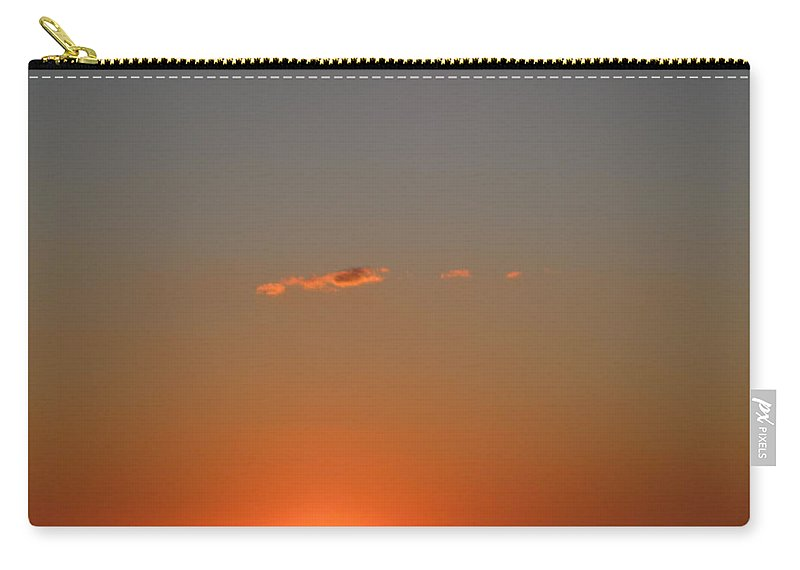 Sunset Carry-all Pouch featuring the photograph Almost A Perfect Day by David Mayeau