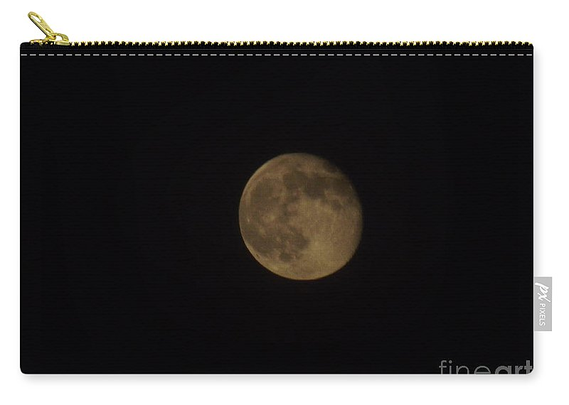 Moon Carry-all Pouch featuring the photograph Almost Full 2 by Jennifer Lavigne