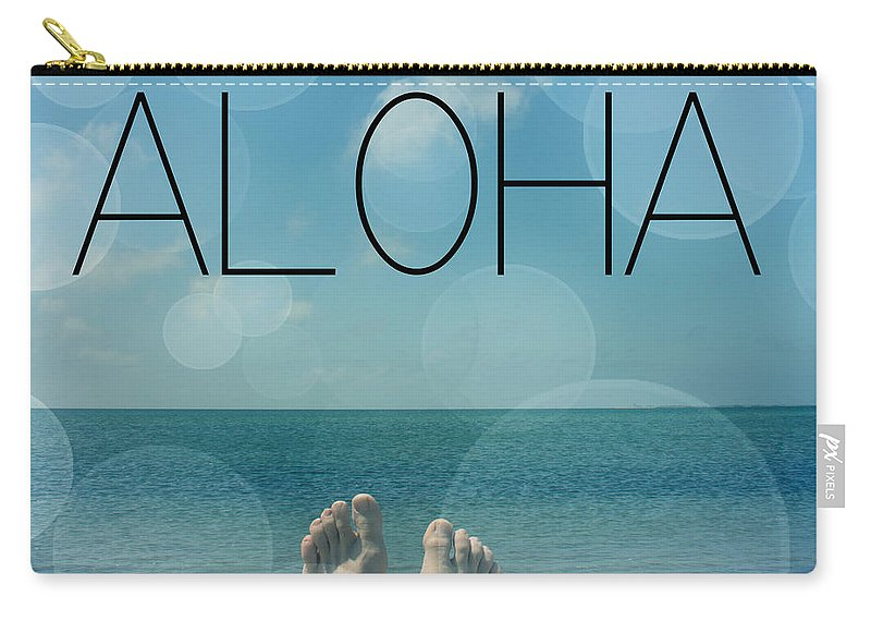 Aloha Carry-all Pouch featuring the photograph Aloha by Mark Ashkenazi