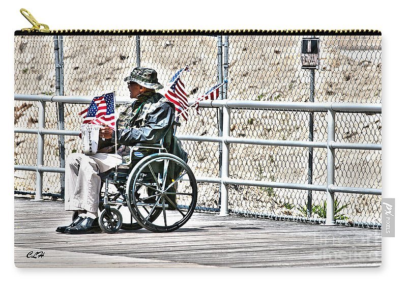 Wheelchair Carry-all Pouch featuring the photograph Alone And Forgotten by Crystal Harman