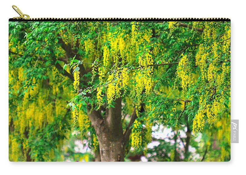 Colorful Carry-all Pouch featuring the photograph Alone by Eti Reid