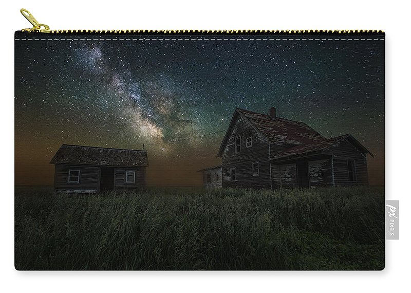 #homegroen Photography Carry-all Pouch featuring the photograph Alone In The Dark by Aaron J Groen