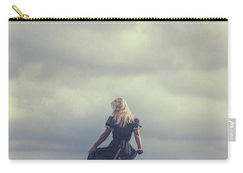 Woman Carry-all Pouch featuring the photograph Alone by Joana Kruse