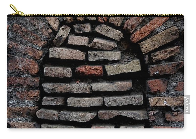 Bricks Carry-all Pouch featuring the photograph Along The Way by Joseph Yarbrough