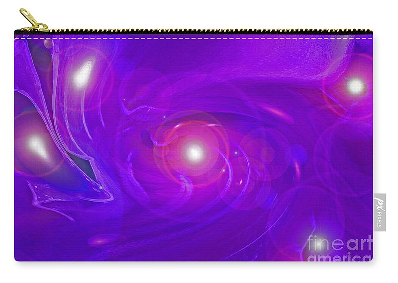 First Star Carry-all Pouch featuring the digital art Alpha Level 2 by First Star Art