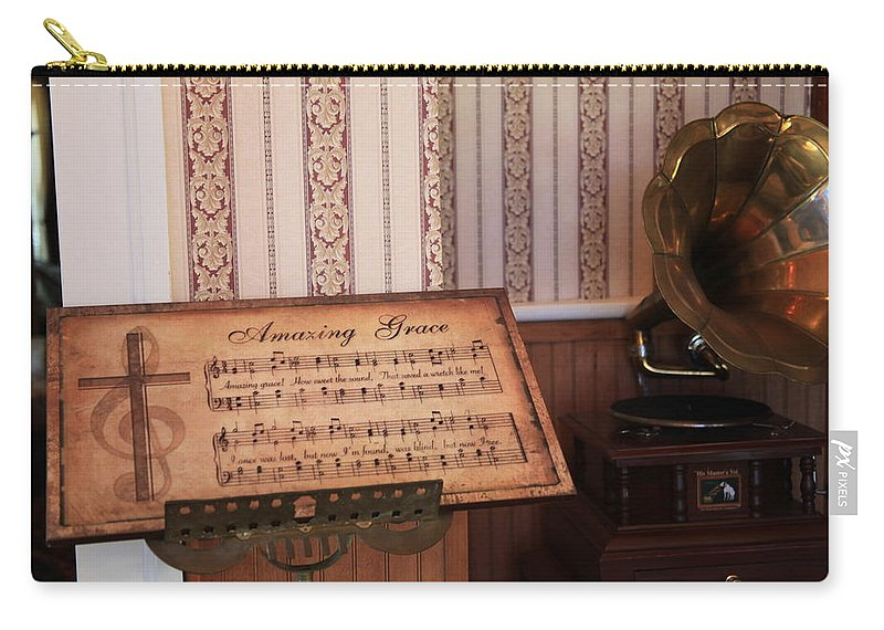 Hymn Carry-all Pouch featuring the photograph Amazing Grace by Toni Hopper