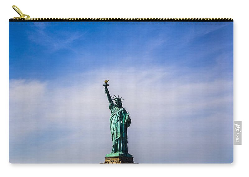 New York City Carry-all Pouch featuring the photograph Amber Waves Of Grain by Angus Hooper Iii