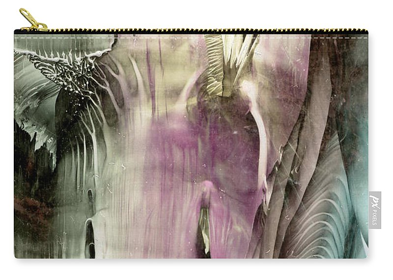 Wax Carry-all Pouch featuring the painting Ambrosia by Cristina Handrabur
