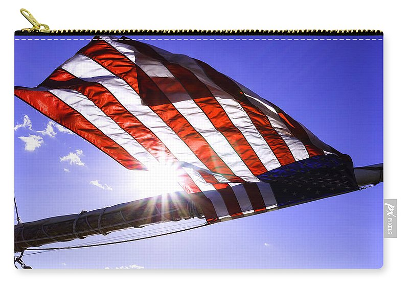 Coast Carry-all Pouch featuring the photograph America by Joe Geraci