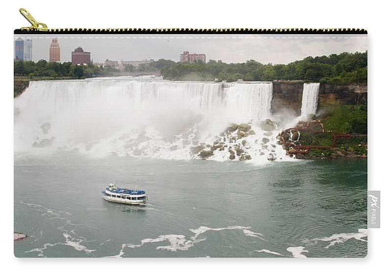 3scape Carry-all Pouch featuring the photograph American Falls by Adam Romanowicz
