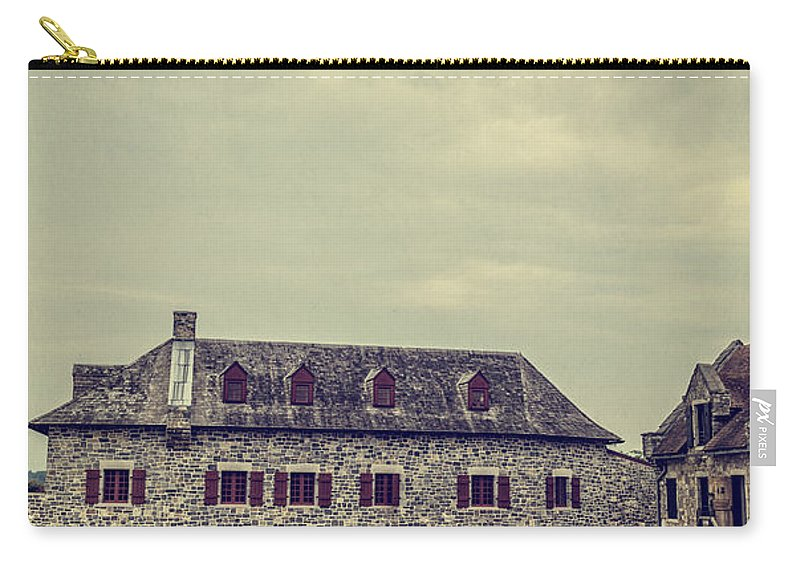 New York Carry-all Pouch featuring the photograph Fort Ticonderoga by Edward Fielding