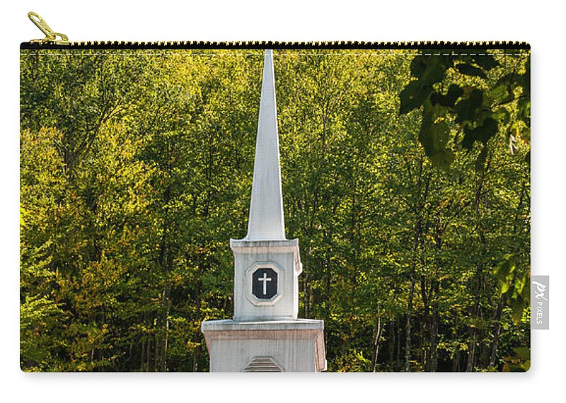 Church Carry-all Pouch featuring the photograph Amidst The West Virginia Woods by Steve Harrington