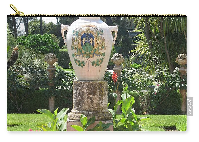 Amphora Carry-all Pouch featuring the photograph Amphora by Christiane Schulze Art And Photography