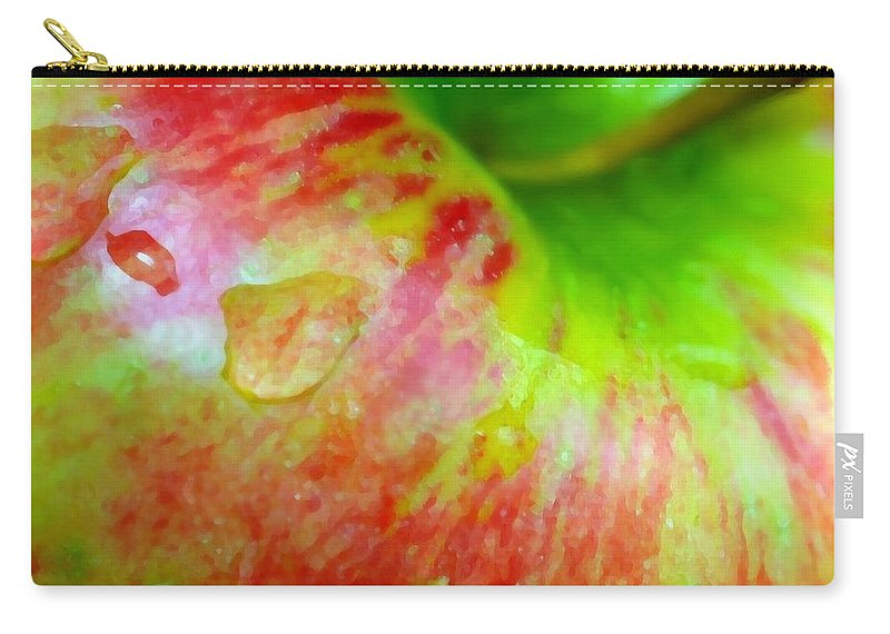 Apple Carry-all Pouch featuring the photograph An Apple A Day by Diana Angstadt