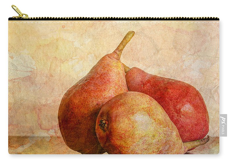 Apple Carry-all Pouch featuring the photograph An Autumn Harvest II by Heidi Smith