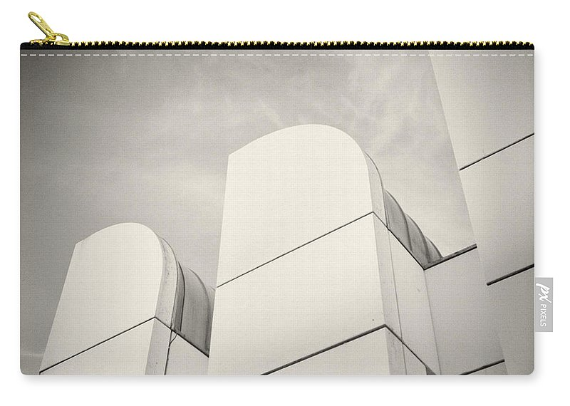 Berlin Carry-all Pouch featuring the photograph Analog Photography - Berlin Bauhaus Archiv by Alexander Voss